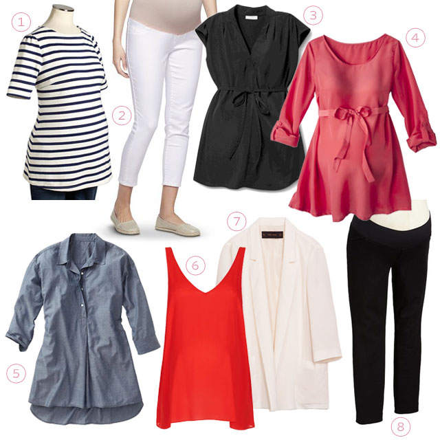 Maternity Tops and Bottoms