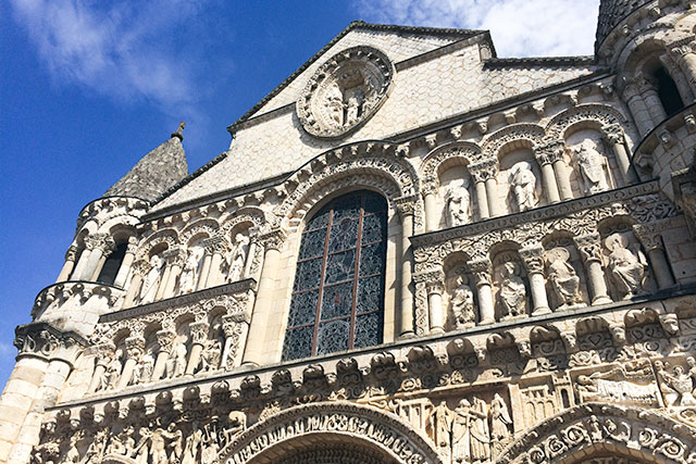 Notre-Dame la Grande, Poitiers, France