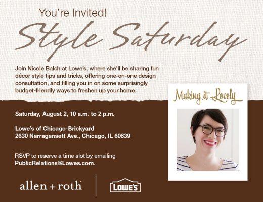 Style Saturday Invitation