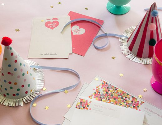 Tiny Prints Thank You Cards and Address Labels