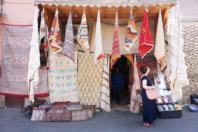 Nicole Balch in Marrakech, Morocco