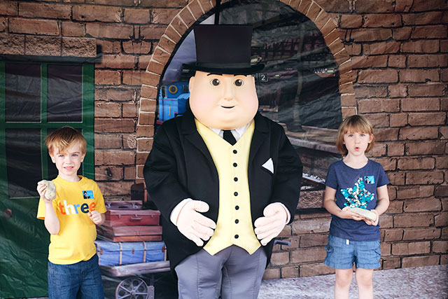 Meeting Sir Topham Hatt