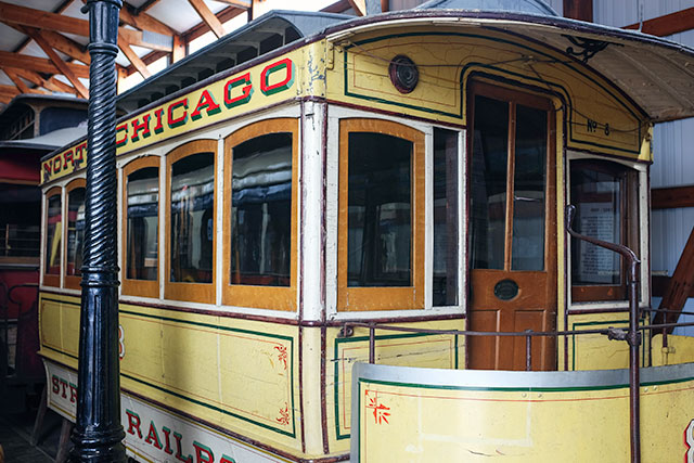 Horse-Drawn Railroad Car