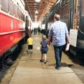 Checking Out the Old Trains