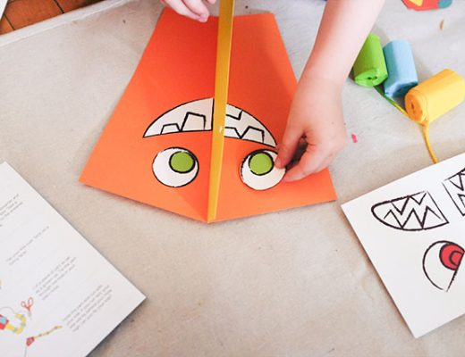 Making a Kiwi Crate Kite
