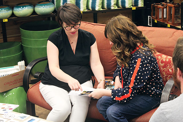 Design Consultation at Lowe's Style Saturday