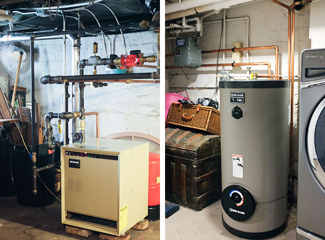 New Boiler and Water Heater