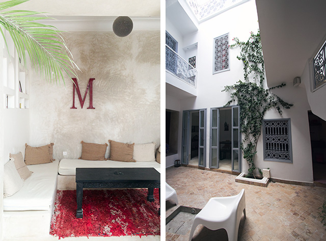 Riad Medina, Marrakech, Morocco