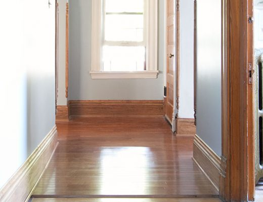 Hallway: New Floor