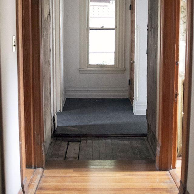 Hallway:  Old Floor