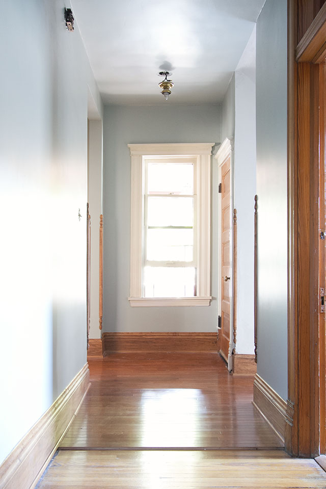 Hallway — Comfort Gray, Sherwin-Williams