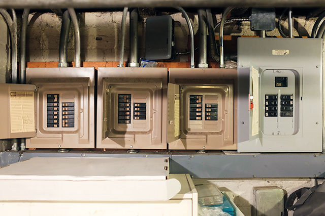 Old Electrical Panels