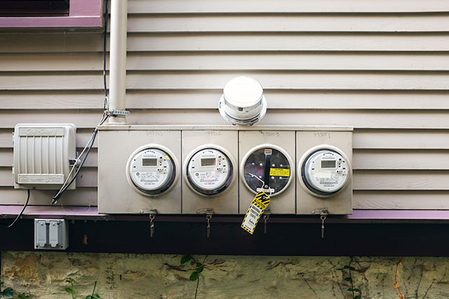 Multiple Electric Meters