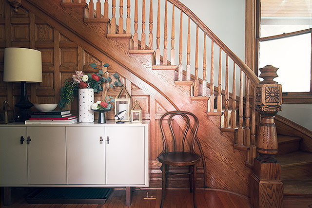 Victorian Entryway and Staircase, Making it Lovely