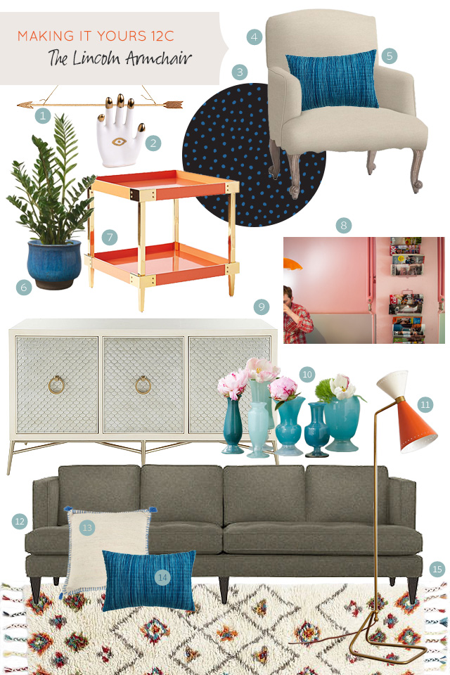 Making it Yours 12C: Lincoln Armchair