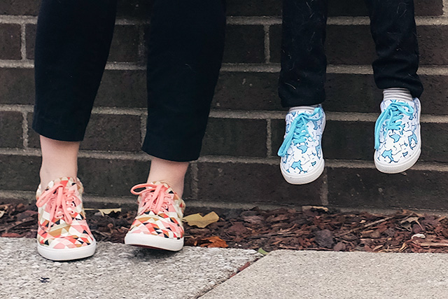 Cute Shoes from BucketFeet