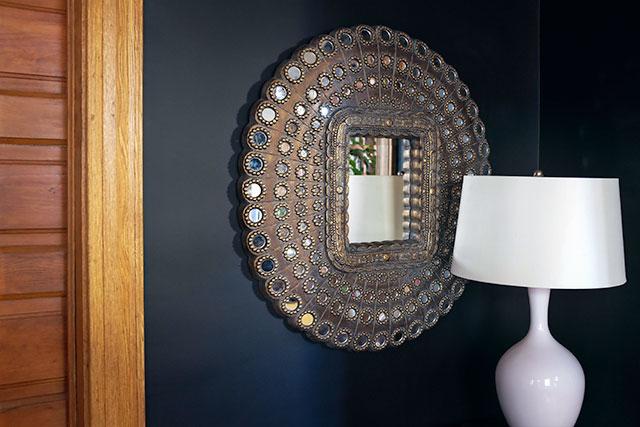 Peacock Mirror