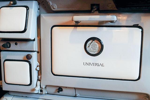 Cast Iron Antique Oven