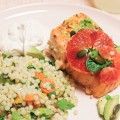 Blood Orange Roasted Salmon from Blue Apron | Making it Lovely