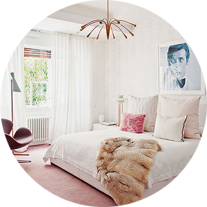 Miriam Alia's Pink Bedroom