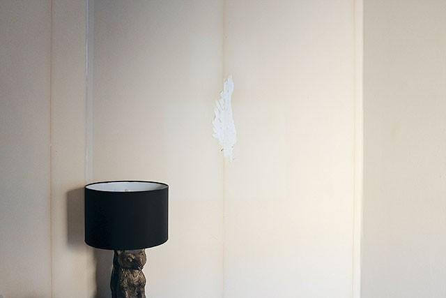 Wallpaper Backing Left Behind