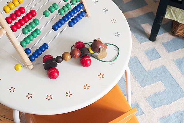 Play Table in Calvin's Nursery | Making it Lovely