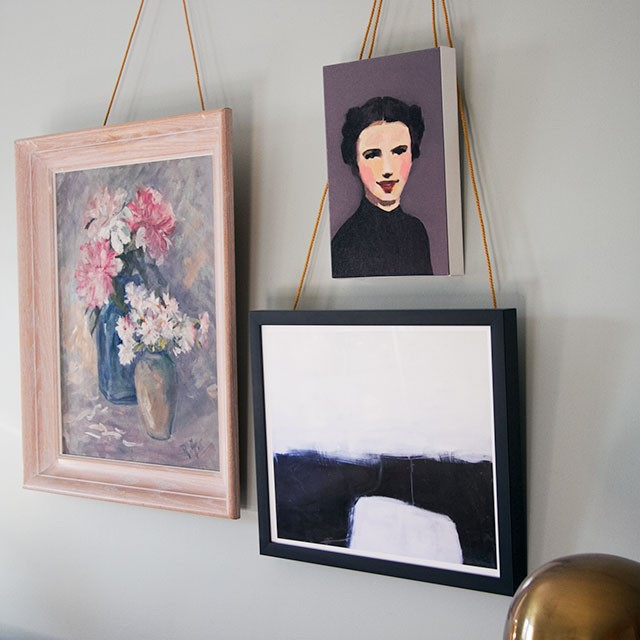 Vintage Painting with New Art from Artfully Walls