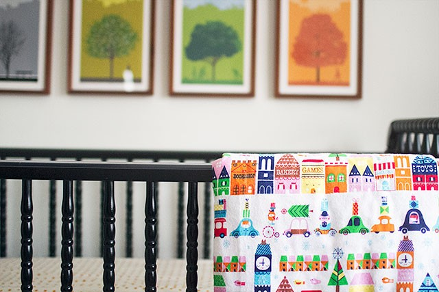 Calvin's Crib Bedding | Making it Lovely