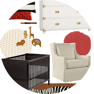 Scalamandré Zebra-Inspired Nursery