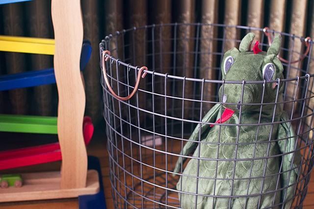 Wire Toy Basket