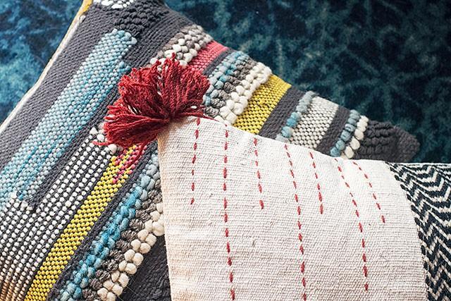 Loloi Pillows and Rug
