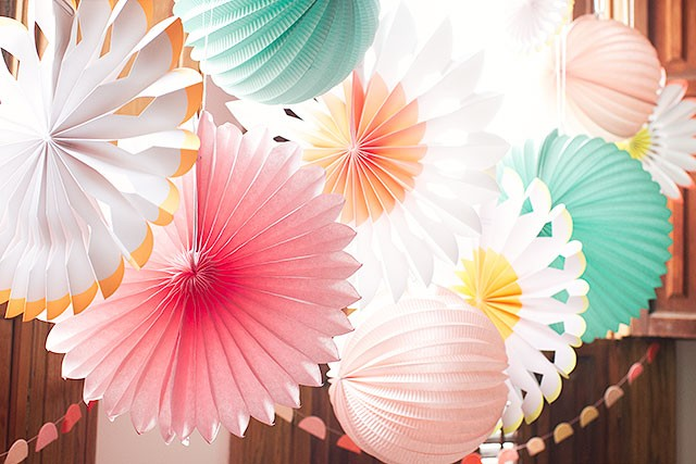 Paper Lanterns and Pinwheels