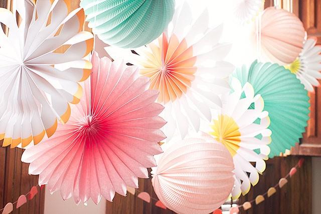 Paper Lanterns and Pinwheels