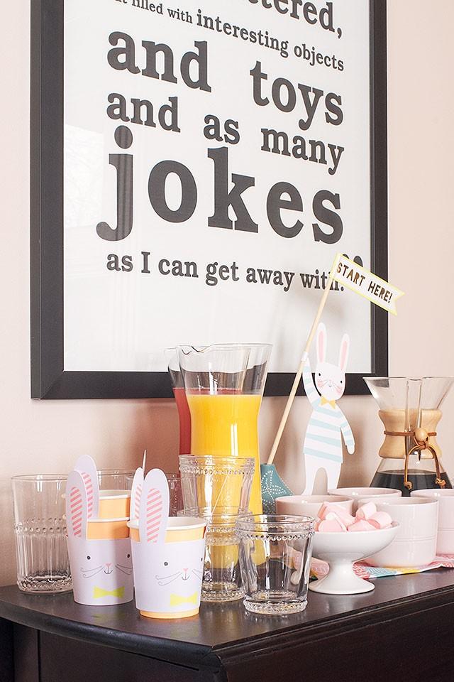 Juice and Coffee