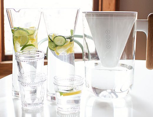 Lemon Water and Soma Water Filter