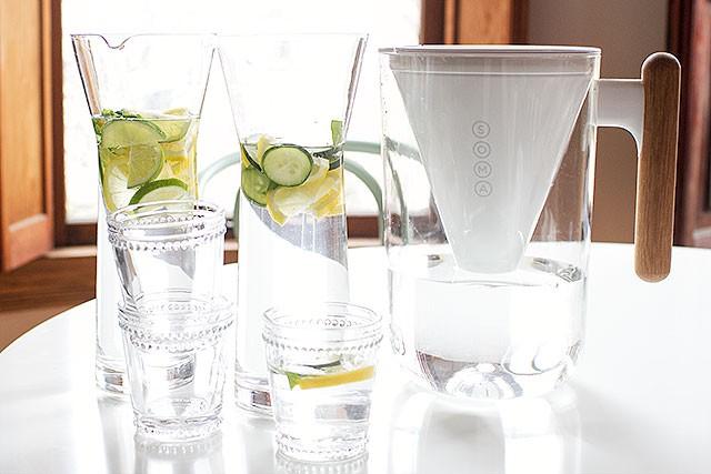 Lemon Water and Soma Water Filter