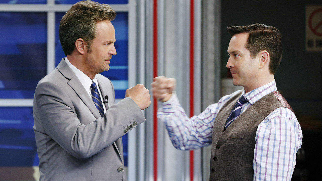 Matthew Perry and Thomas Lennon