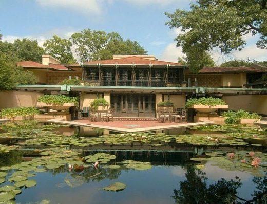 Avery Coonley Estate, Frank Lloyd Wright, Riverside, IL