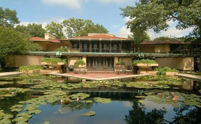 Avery Coonley Estate, Frank Lloyd Wright, Riverside, IL