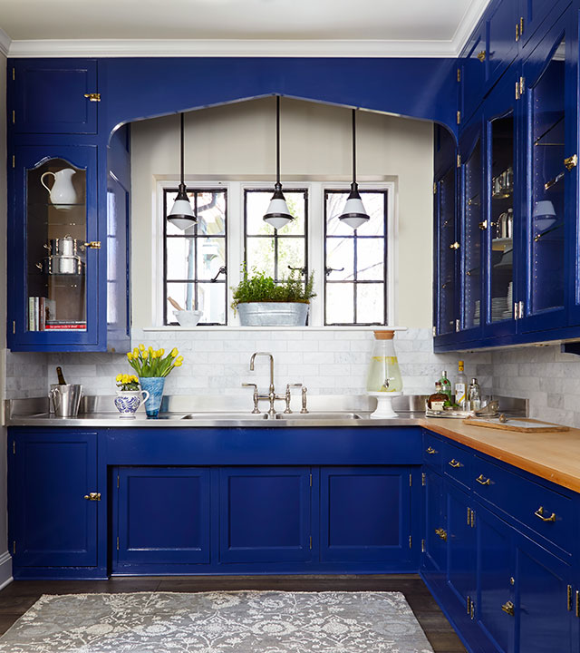 blue accessories for kitchen inspiration from the lake forest showhouse amp gardens 2015 4799