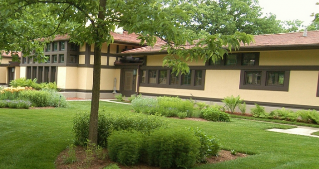 Coonley Stables Coach House, Frank Lloyd Wright, Riverside, IL