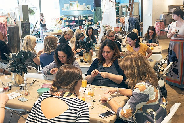 Craft Workshop at Anthropologie