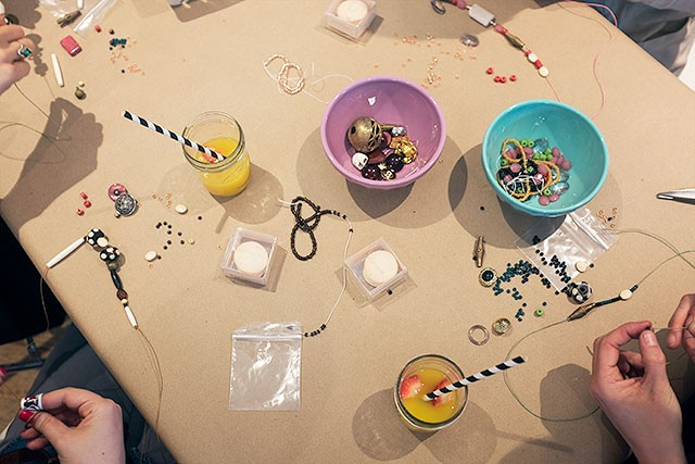Making Necklaces
