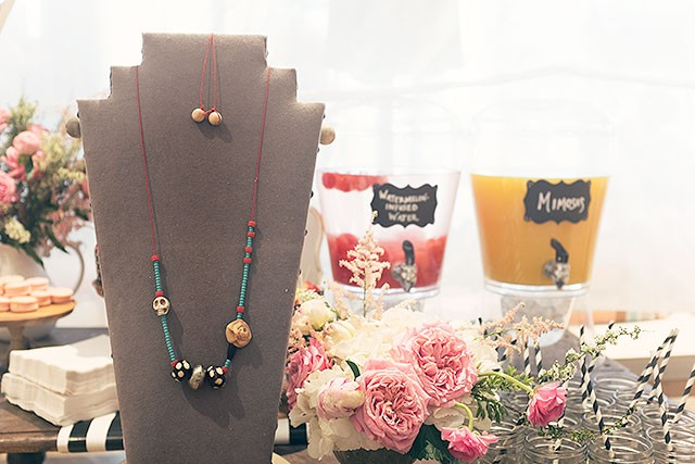 A DIY Handmade Beaded Necklace