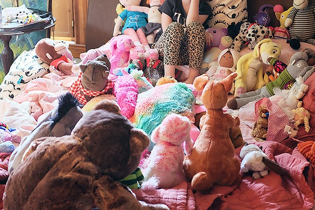 So many stuffed animals.