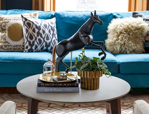 One Coffee Table, Styled Three Ways