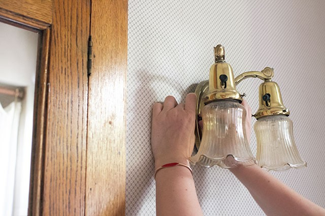 Fixing a Sconce with Sugru