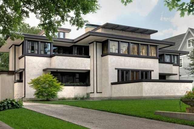 Oscar Balch House, Frank Lloyd Wright, Oak Park, IL
