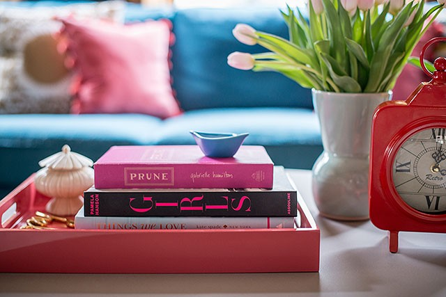 Feminine and Fun Coffee Table