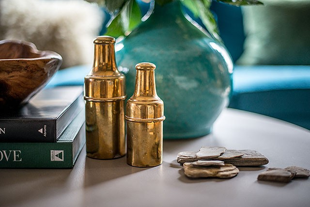 Brass Apothecary Bottles